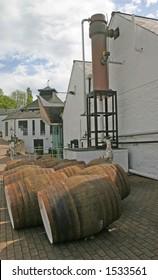 Whiskey Distillery in Scotland UK