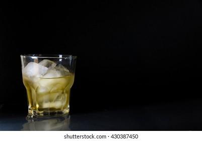 Whiskey Glass Black