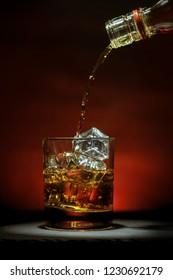 Whiskey on ice