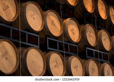 Whisky Barrel Stack