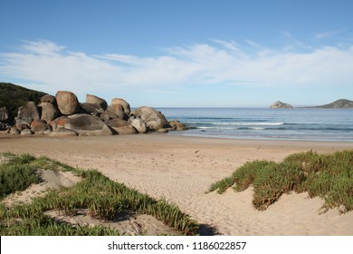 whisky bay, wilsons promontory national park, victoria, australia