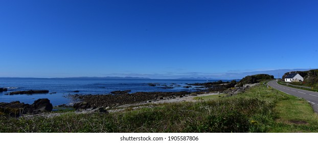 From the whisky capital Campbeltown, ocean bound, towards the road to Southend, Mull of Kintyre, Scotland