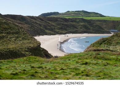 Whispering sands Llyn Peninsula Wales