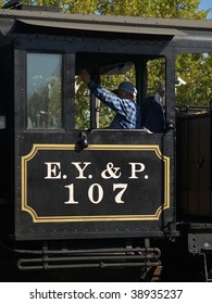 Whistle Blower in the steam locomotive sense.  The E Y & P Railroad had 50 miles of track & made more noise than money before in cease operations 100 years ago