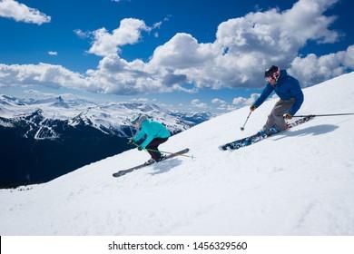 Whistler, British Columbia/Canada- 02/12/2019  photo from Whistler Blackcomb