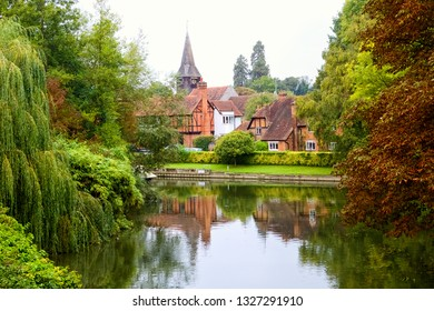 Whitchurch on Thames village in Great Britain