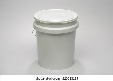 White 5 Gallon Bucket