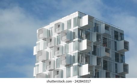 Modern Apartment Building Images, Stock Photos & Vectors ...