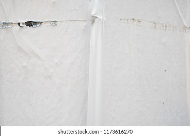 white abstract poster