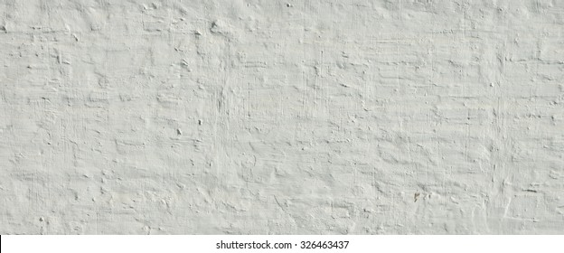 White Ancient Rough Bumpy Brick Wall Texture Background