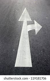 The white arrow on Surface traffic