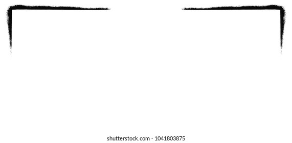 White background with black corners, white texture