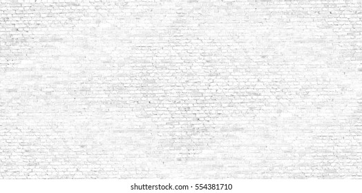 white background brick wall texture seamless pattern