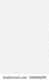 White background, ornamental squares, wallpaper