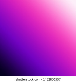 White background passing to pink and purple to black