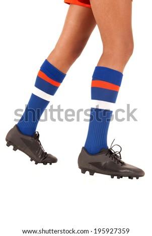 Girl in soccer socks fetish pic 281