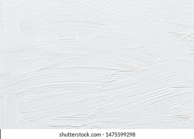 White background, subtle textured wallpaper, white paint brush strokes on canvas, simple modern creative design, messy distressed grunge vintage backdrop, blank copy space