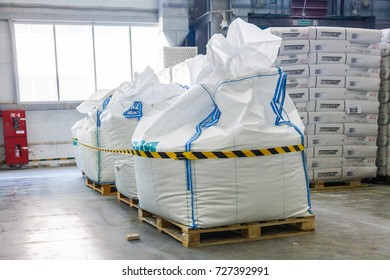 White Bag with finished rubber products Chemical Industry in Voronezh Sibur