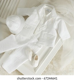 white baptism clothes for boys