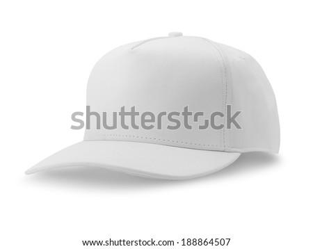 dc1a9881 White Baseball Cap Isolated On White Stock Photo (Edit Now ...