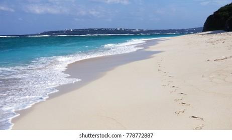 White Beach in Okinawa.