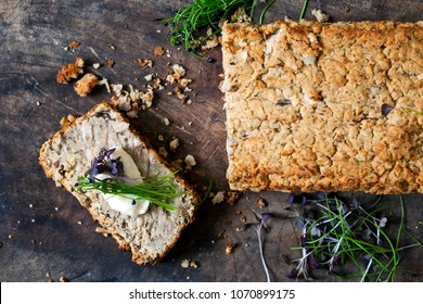 White bean vegan baked pate