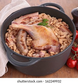 white beans with meats