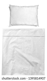 white bedding sheet and pillow sleep and dream  bedroom concept