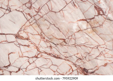 White Beige Marble Texture Brown Veins Natural Stone Pattern Scratched on Mable Tile Wall or Flooring Surface Interior Design Luxury Decorative Material or Abstract Background High Resolution Print