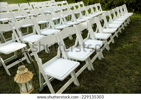 Excellent White Benches Rows Royalty Free Stock Image Alphanode Cool Chair Designs And Ideas Alphanodeonline