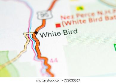 White Bird Idaho Usa On Map Stock Photo Edit Now 1030306705
