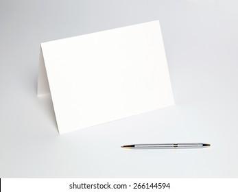 White blank
