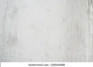 White blank concrete wall texture background