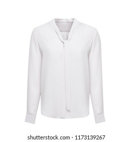 White blouse isolated