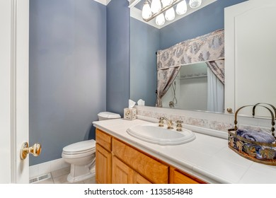 Badezimmer Blau Stock Photos Images Photography