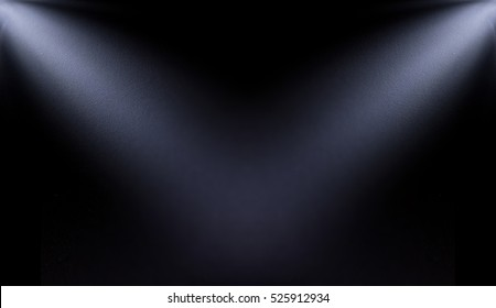 white, blur spotlight effect on black background