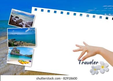 White board Traveler in Thailand