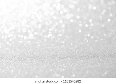 white bokeh lights defocused. abstract background