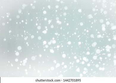 White bokeh of water with white background