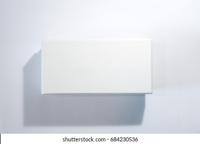 White Box on Gray background