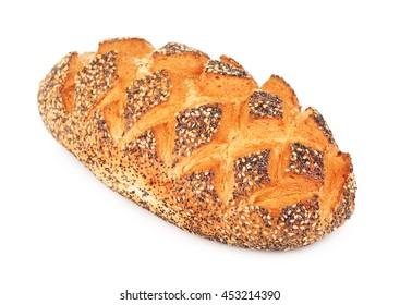 White Bread With Poppy