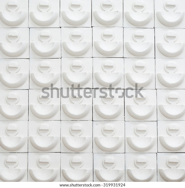 white brick pattern for background