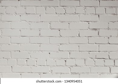 White brick wall abstrac t texture background