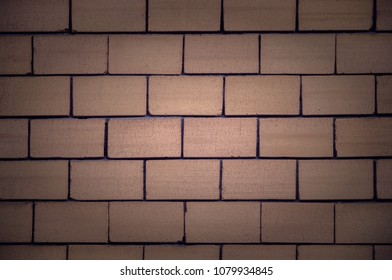 White brick wall. Background