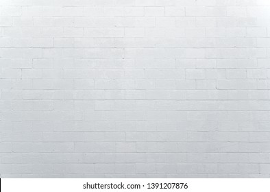 white brick wall background for design