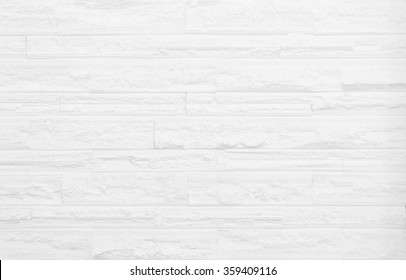 White brick wall background. gray texture stone concrete,rock plaster stucco; paint pastel masonry block pattern; Construction architecture indoor seamless design modern room. House Interior surface.