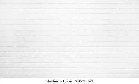 white brick wall background. white wall texture. Abstract weathered textured white brick wall background