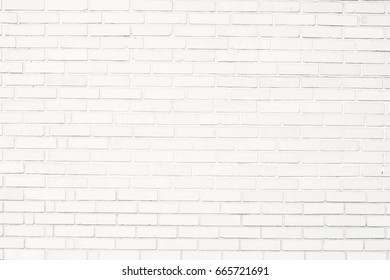 White brick wall texture. Abstract wallpaper. Perfect texture for the interior exterior any possible industrial grunge vintage hipster background. Close up