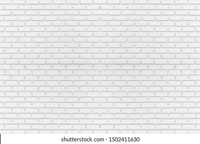 White brick wall texture background, industrial architecture detail, For product display or montage.