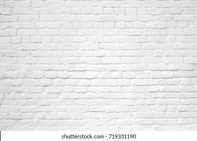 white brick wall texture for background or seamless texture